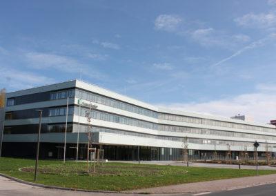 Neubau für das Fraunhofer-Institut IOSB (AST) und IIS (DVT) in Ilmenau