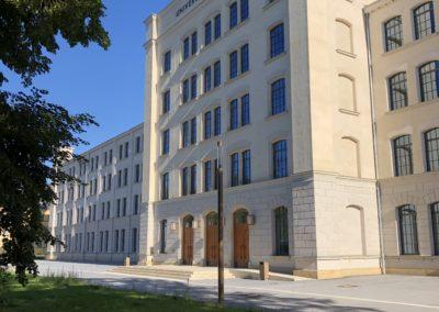 TU Chemnitz – Zentrale Universitätsbibliothek (Alte Aktienspinnerei)